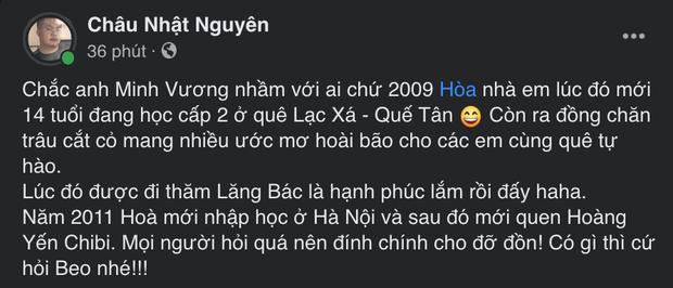 Hòa Minzy ngỡ ngàng với màn nhận nhầm người quen của Minh Vương M4U: Chưa từng gọi là chú hay yêu cháu trai anh Vương!