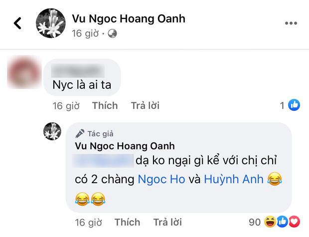 Trước khi bị Huỳnh Anh nhắc đến với thái độ kém duyên, Hoàng Oanh lại ghi điểm tuyệt đối vì hành động này