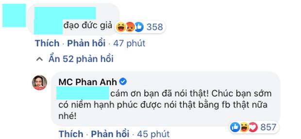 MC Phan Anh đối 1:1 với loạt antifan đề cập đến chuyện từ thiện, phản ứng thế nào về lùm xùm tương tự của Thuỷ Tiên?
