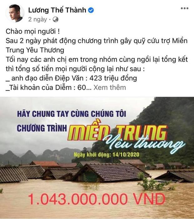 Lương Thế Thành - Thuý Diễm bất ngờ bị CEO Đại Nam gọi tên vì kêu gọi quyên góp từ thiện 1 tỷ đồng nhưng im re?