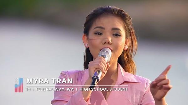 Minh Như tiếc nuối dừng chân ở top 20 American Idol, bật khóc với lời cuối từ ban giám khảo