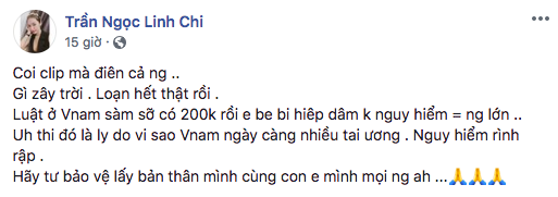 Tương tự vụ thang máy 200k nhưng lần này là bé gái, sao Việt bức xúc lên tiếng phản đối