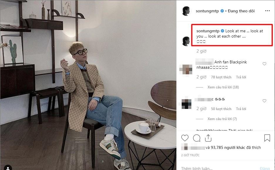 Mới update instagram, có lẽ nào Sơn Tùng cũng là một fan cứng nhà Blackpink?
