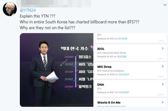 BTS 7 lần lọt top Billboard Hot 100, nhưng truyền thông Hàn Quốc cố tình quên mất, chỉ ghi nhận nghệ sĩ Big3?