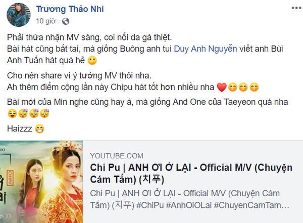 Vừa được khen giọng hát cải thiện, Chi Pu bị Á quân Sing my song tố đạo nhạc của Bùi Anh Tuấn