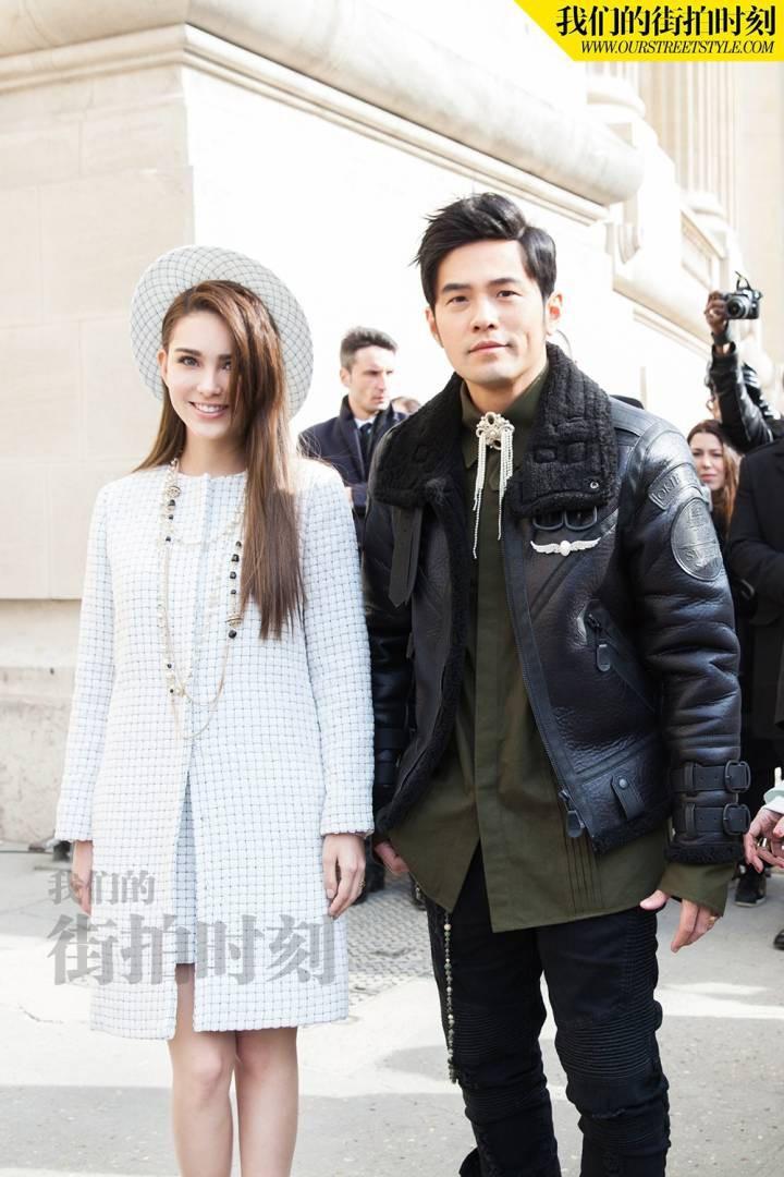 Vợ chồng Châu Kiệt Luân - Côn Lăng xuất hiện hào nhoáng giữa rừng fanchant, chặt chém dàn khách VIPs tại Paris