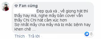 Vừa trang điểm vừa hát live Anh ơi ở lại, Chi Pu được CDM nhận xét Hát êm hơn rồi
