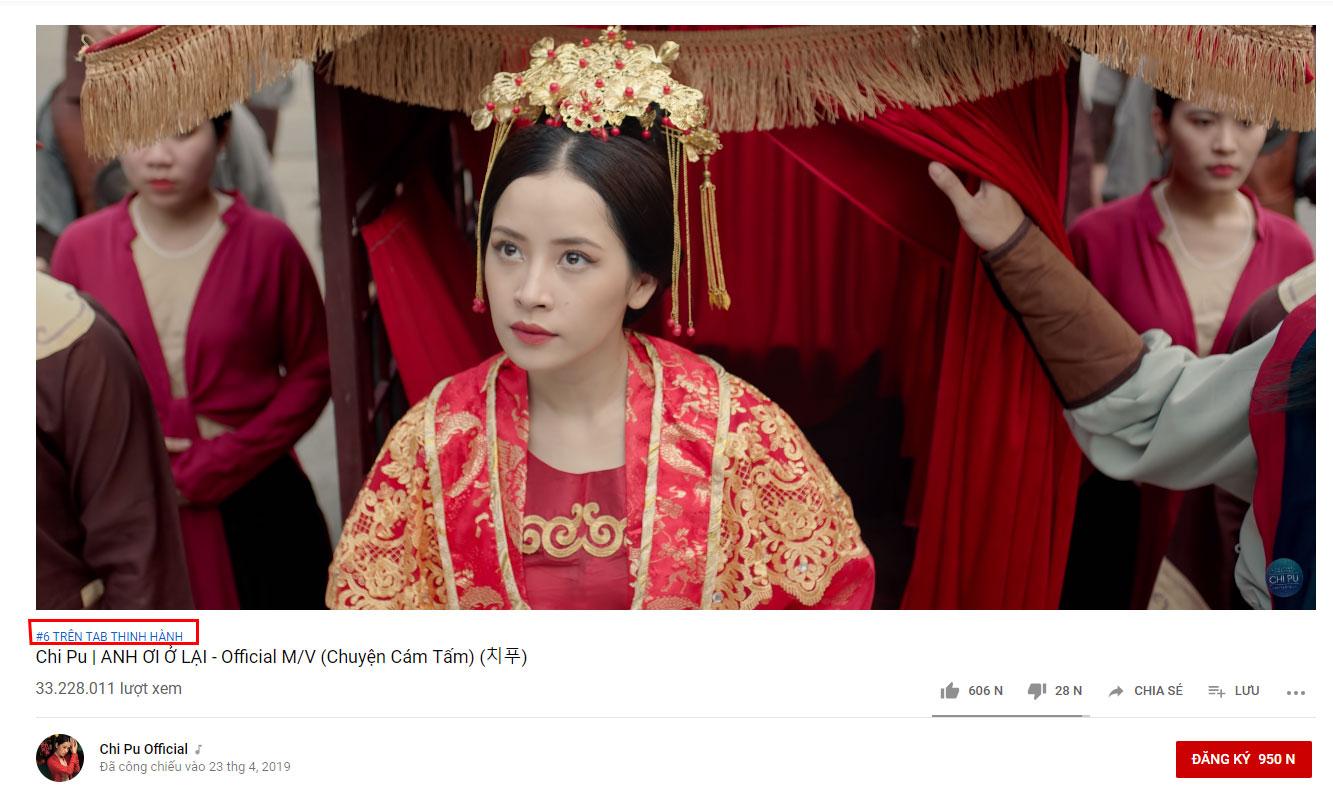 """Phản ứng gay gắt khi Chi Pu phát ngôn, lần này Hương Tràm """"chạm mặt"""" Chi Pu lần nữa trên Youtube"""