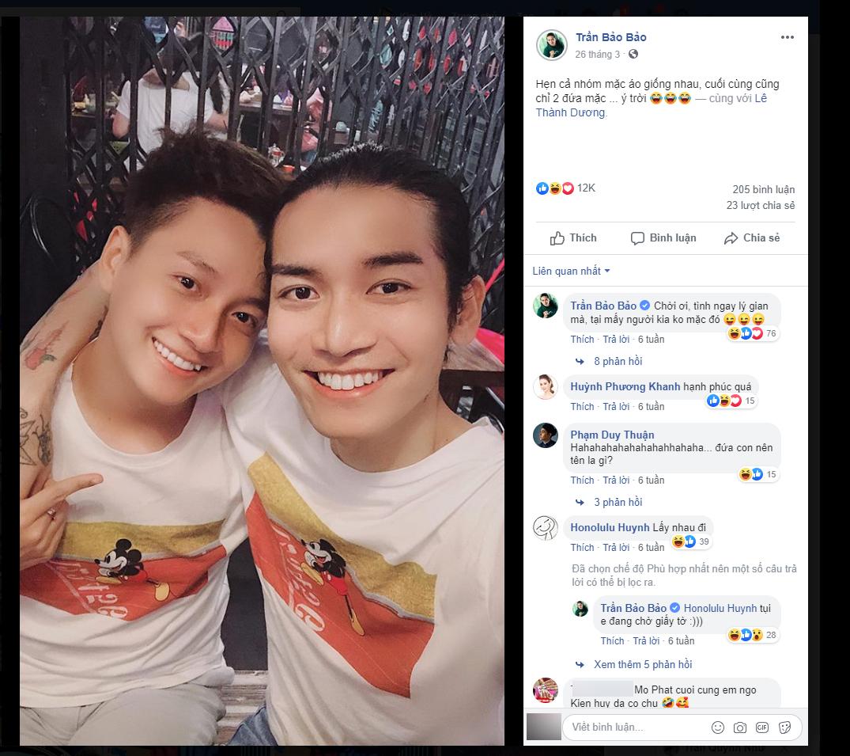 Hình ảnh tình đồng chí thân thiết giữa BB Trần và Ngô Kiến Huy khi tham gia Running Man Việt