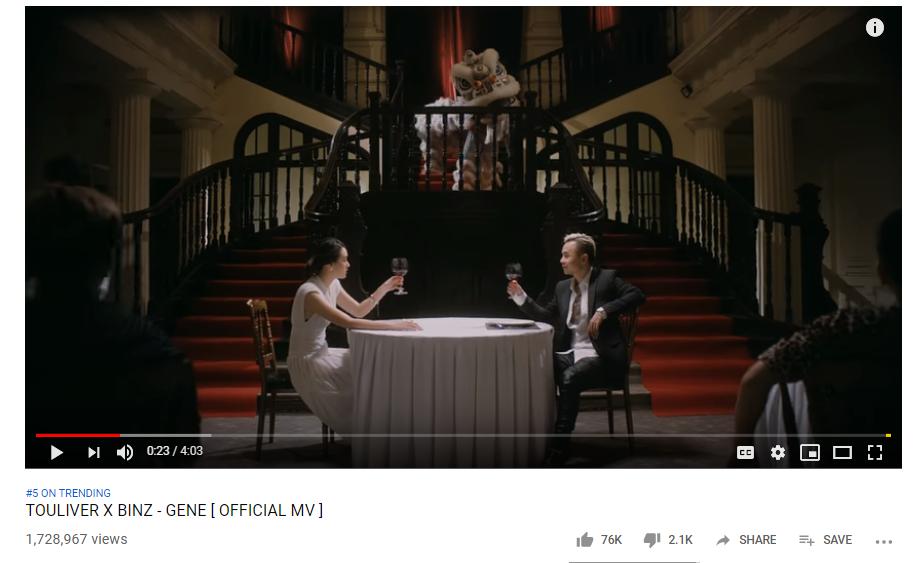Binz nhập cuộc top trending âm nhạc tháng 5, đối đầu với Đức Phúc và Amee