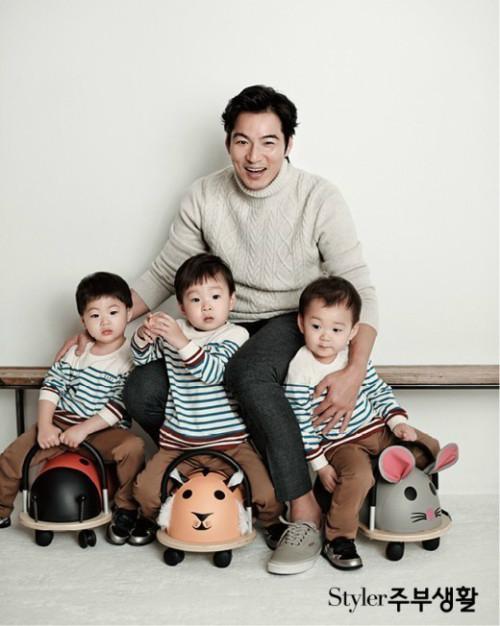 Bộ ba chú ỉn nhà Song Il Gook đã lớn thế này: Daehan, Minguk và Manse trong bộ ảnh soái ca có làm các chị mê mệt?