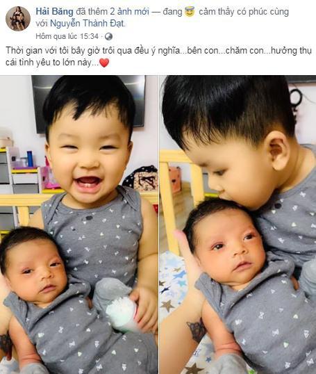 Hải Băng khoe ảnh con mới 11 ngày tuổi, CDM đã vội hỏi Sao lại mang bé đi cắt mí khiến cô tức giận