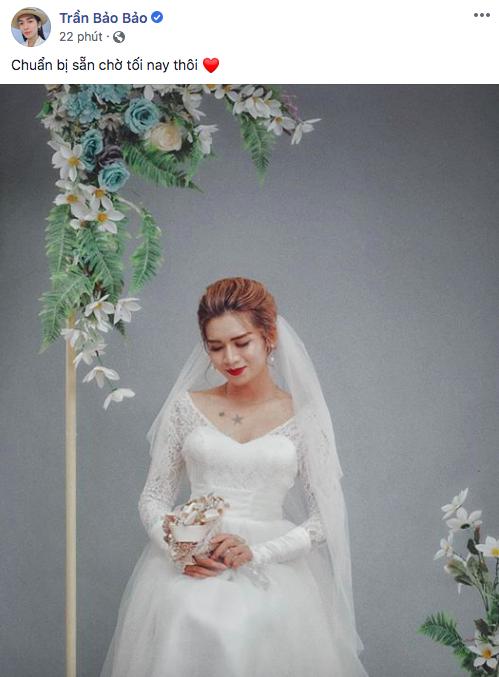 BB Trần hóa cô dâu xinh đẹp, CDM gọi tên Trương Thế Vinh mau chóng rước nàng về dinh