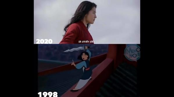 1001 phép so sánh giữa Hoa Mộc Lan live action và hoạt hình: Khán giả tiếc nuối vì thiếu nhân vật này