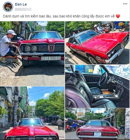 Nghệ sĩ mua xe hơi là xưa rồi, Binz chơi lớn tậu hẳn xe hàng cổ hiếm có khiến nhiều người ghen tị