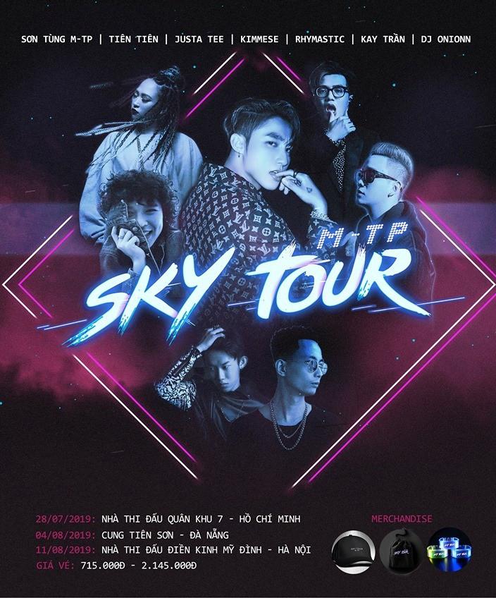 Sơn Tùng chơi lớn, mời dàn sao khủng nhất nhì giới Underground tham dự Sky tour 2019