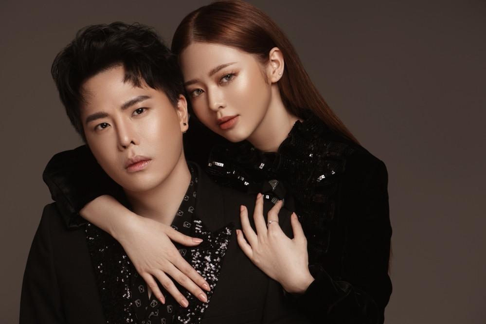 Mặc kệ tin đồn hẹn hò, Liz Kim Cương và Trịnh Thăng Bình tung bộ ảnh tạo dáng gần gũi