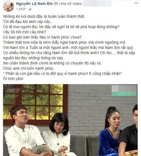 Danh sách loạt sao nam showbiz mà Nam Em có tình cảm sương sương: hastag tên Sơn Tùng, thả thính soái ca Thuận Nguyễn
