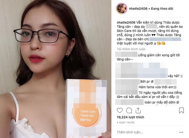 Số nhọ như Nhật Lê - bạn gái Quang Hải:  Ca hát, đi show hay đăng bài PR đều dính phải thị phi