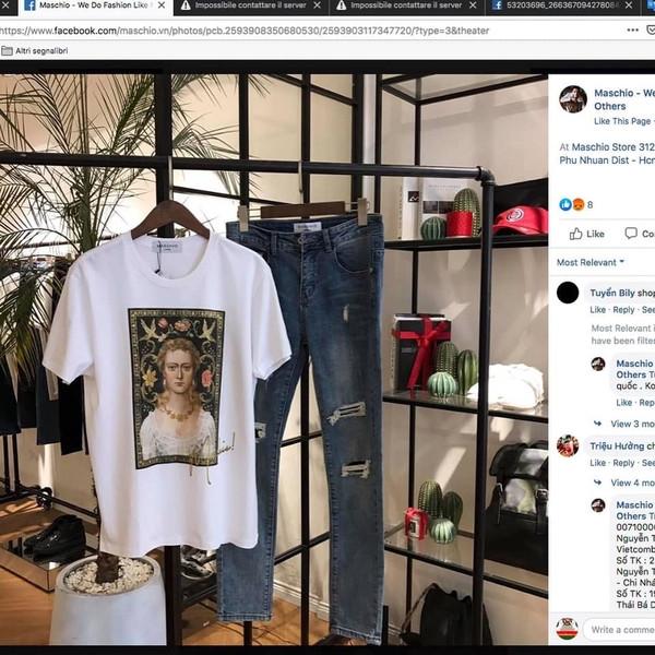Sau lùm xùm bản quyền với Trương Thế Vinh, nhãn hàng thời trang này bị tố đạo nhái ý tưởng các thương hiệu lớn trên thế giới