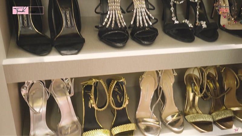 Ngọc Trinh khoe BST giày chạm mốc 5 tỷ: Dưới 23 triệu mà màu đẹp có thể mua luôn 2 đôi