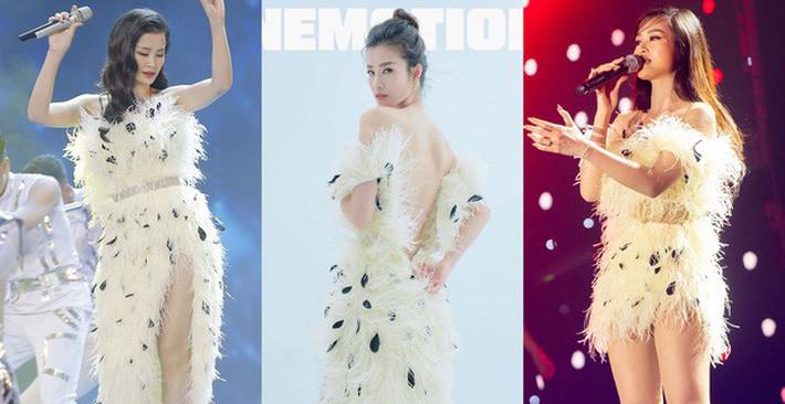 Đông Nhi tái chế trang phục biểu diễn, các fan hài hước bình luận Chị bận tiết kiệm cho váy cưới