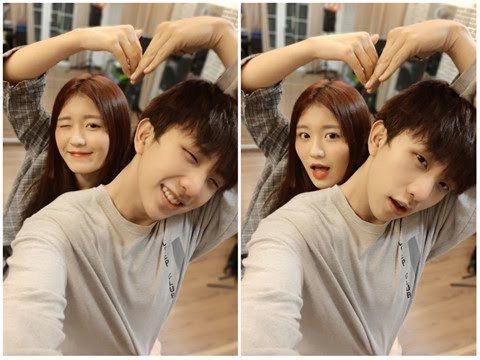 Han Sara và Tùng Maru (Uni5)  công khai trở thành 1 cặp, sẵn sàng hôn má để khẳng định tình cảm