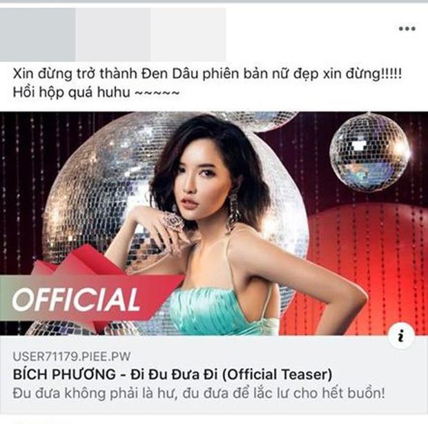 Bích Phương lên luôn với teaser Đi đu đưa đi; cô Cẩm Lan, Đen Vâu, Dua Lipa và cả Bảo Hưng miền tây đột ngột bị CDM gọi tên