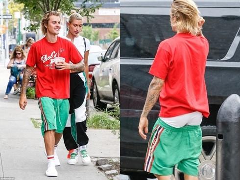 Justin Bieber trở lại với style quần tụt, CDM ngán ngẩm: Có vợ rồi vẫn không thay đổi, may là Selena không dính vào