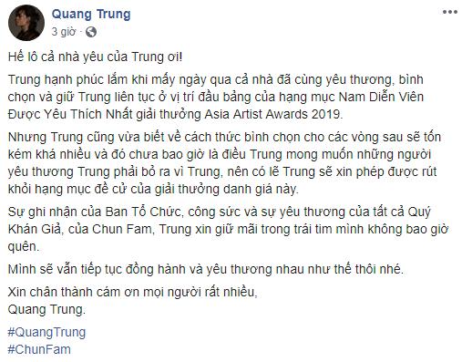 Toàn cảnh cục diện ồn ào của lễ trao giải AAA 2019 khi lần đầu đến Việt Nam