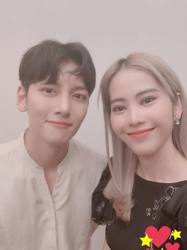 Nam Em bất ngờ khoe ảnh selfie cùng Ji Chang Wook trong sự kiện gặp gỡ riêng tối hôm qua