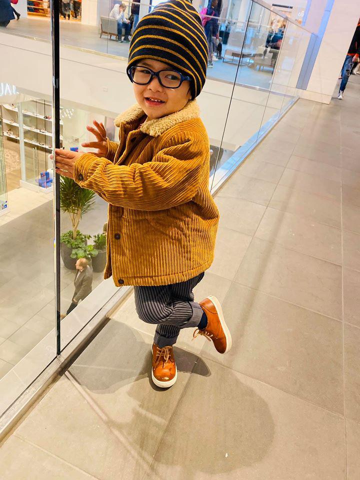 Con trai Đan Trường 2 tuổi rưỡi, chuẩn bị ra mắt thương hiệu thời trang cá nhân