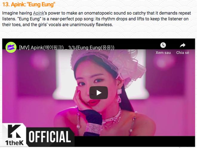 Sơn Tùng, Bích Phương, Noo Phước Thịnh được gọi tên trong danh sách Top 50 ca khúc Châu Á nổi bật nhất năm