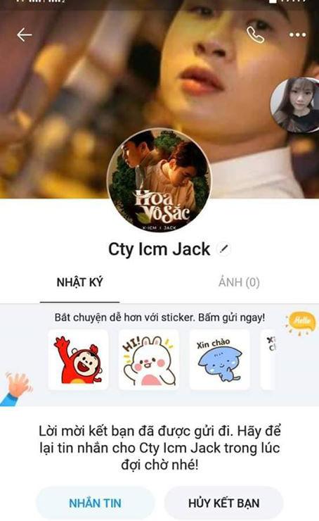 Jack bị kẻ xấu giả mạo tên tuổi, lừa gạt lấy tiền với lý do xin tài trợ quay MV