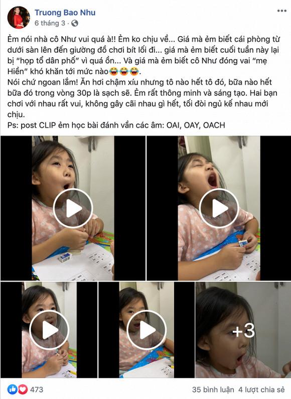 Phùng Ngọc Huy gửi lời cám ơn đến những người thay mẹ Mai Phương chăm sóc con gái