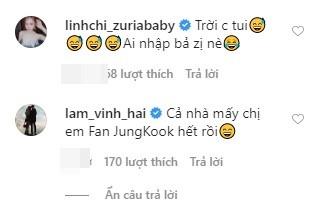 Ngọc Trinh công khai thả thính Jung Kook - BTS trên trang cá nhân