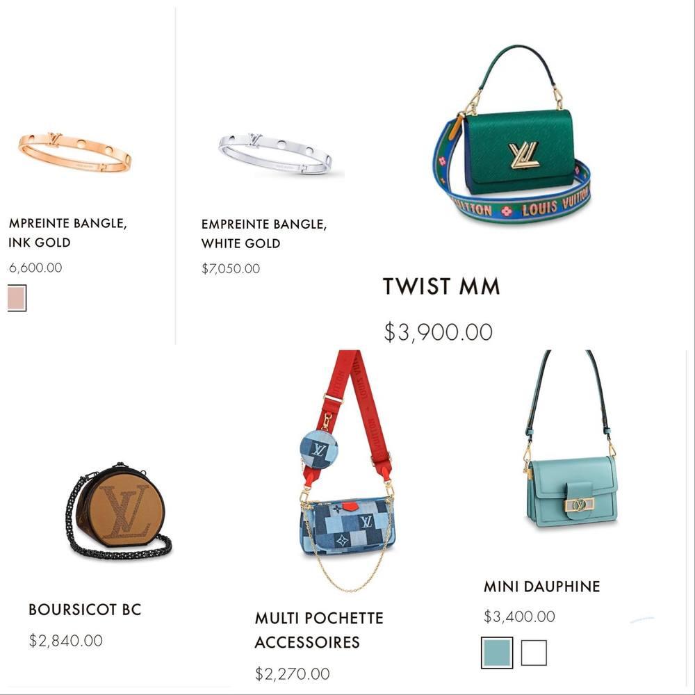 Quay clip bắt trend vỏn vẹn 13 giây, Lan Ngọc khoe được trọn bộ hàng hiệu đắt đỏ nhà Louis Vuitton