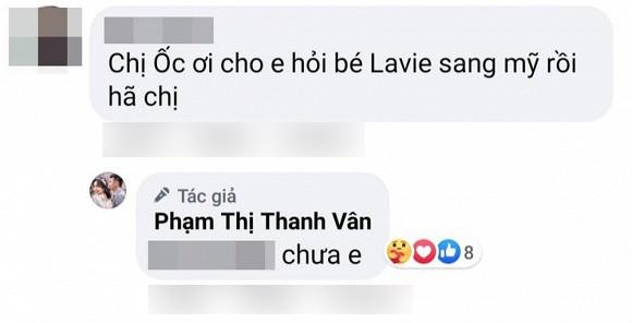 Ốc Thanh Vân đính chính thông tin Lavie sang Mỹ đoàn tụ cùng bố Phùng Ngọc Huy