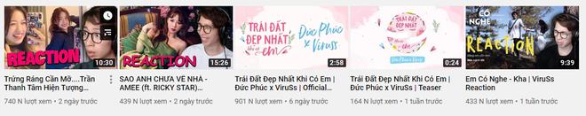 Mượn ké kênh Youtube để đăng demo, Đom Đóm của Jack lọt luôn vào top 2 video thành công nhất của ViruSs