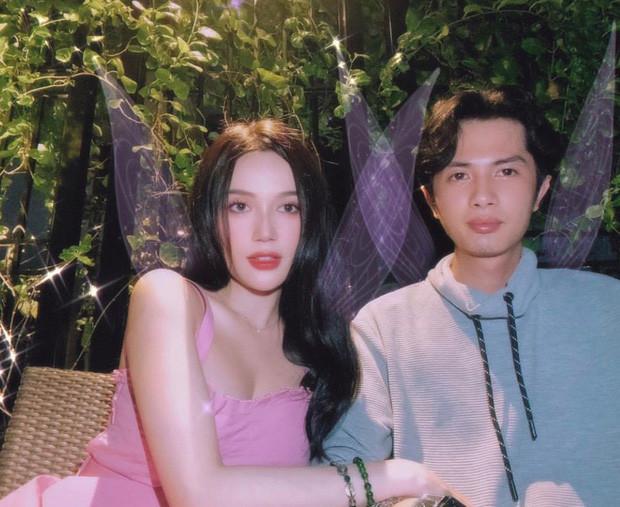 Kỉ niệm 1 năm yêu nhau, Huỳnh Phương tặng bạn gái buổi tối lãng mạn tại nhà hàng sang trọng