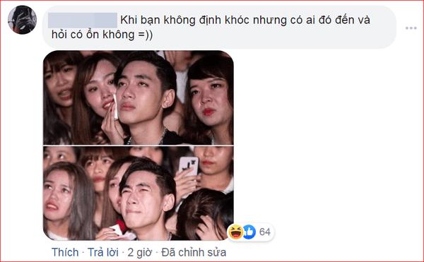 Khóc trong đêm nhạc sinh nhật, K-ICM bị anti fan mỉa mai: Khóc như diễn viên