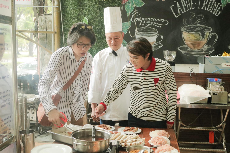 Huỳnh Lập và Quang Trung hóa thân thành Thủ tướng Quốc tế giữa đường phố Sài Gòn