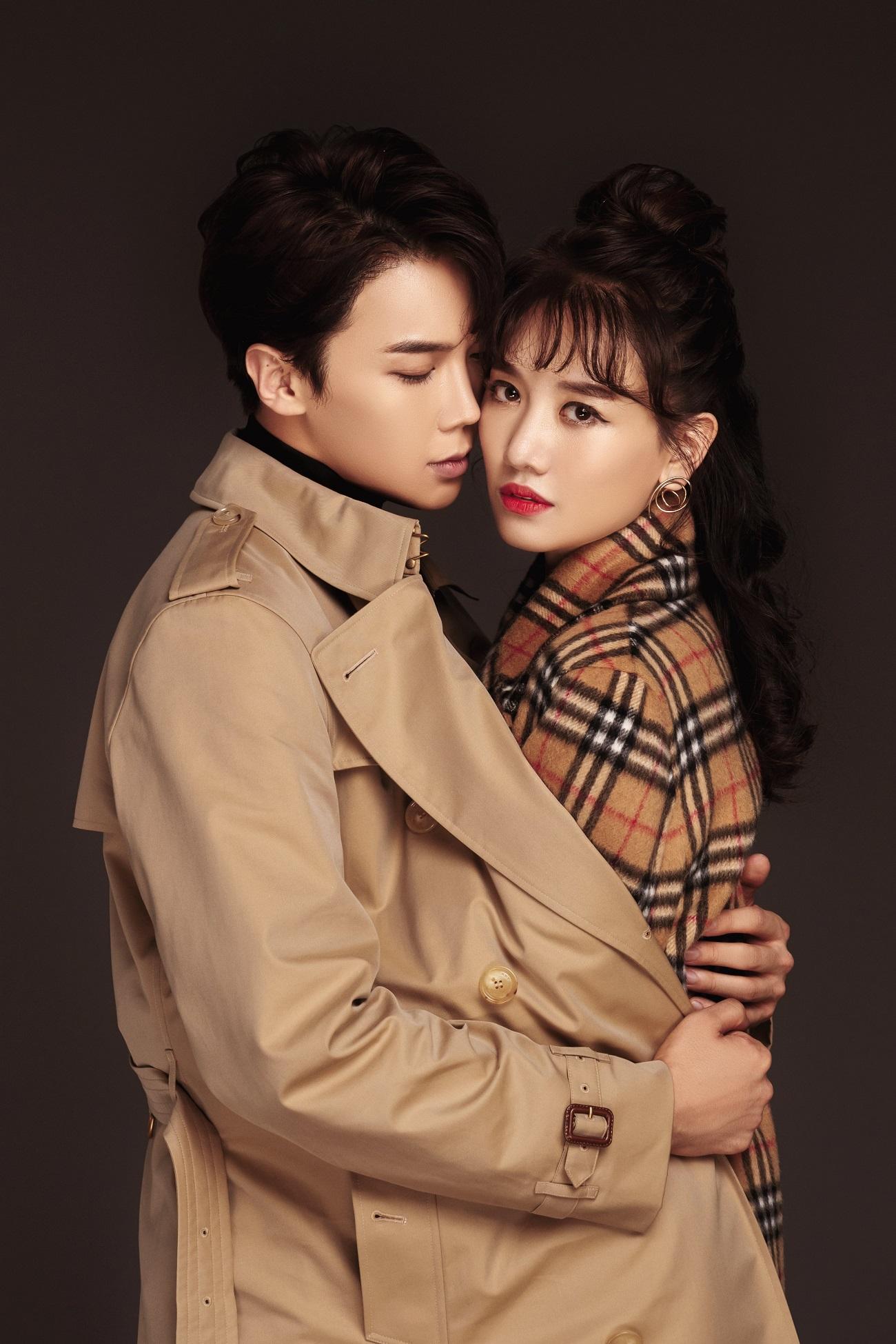 Sau sự cố đọc nhầm tên Châu Bùi trên sân khấu, Hari Won lập tức tình tứ bên trai đẹp Park Jung Min