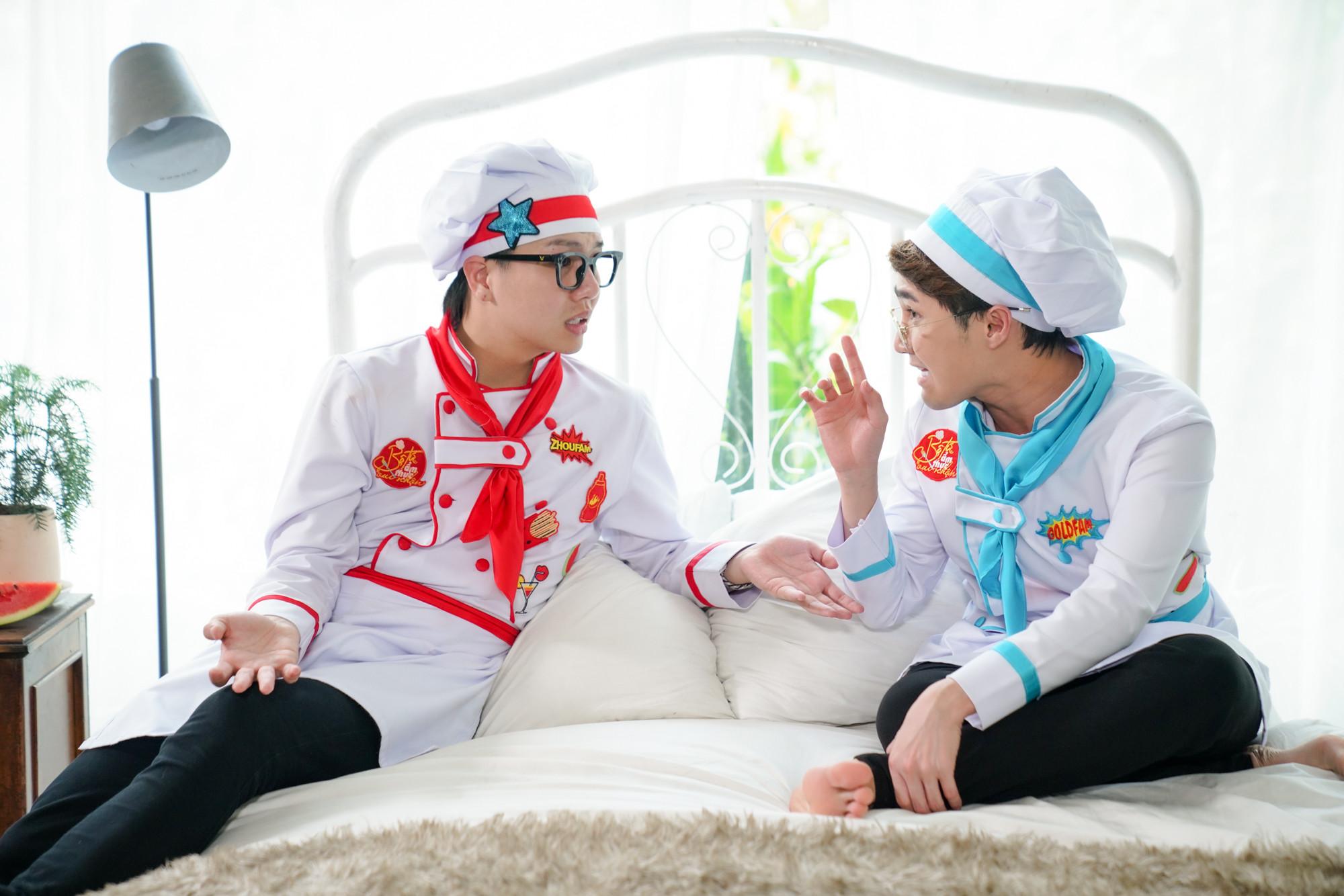 Duy Khánh vận động cả chợ tập thể dục giảm cân sau Tết