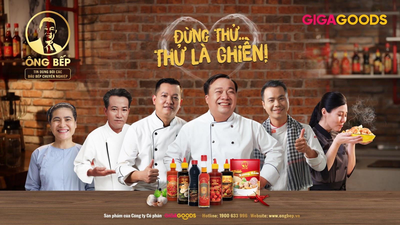 Giga1 trở thành đối tác chiến lược của Ông Bếp - Nhãn hàng gia vị 100% made in Việt Nam