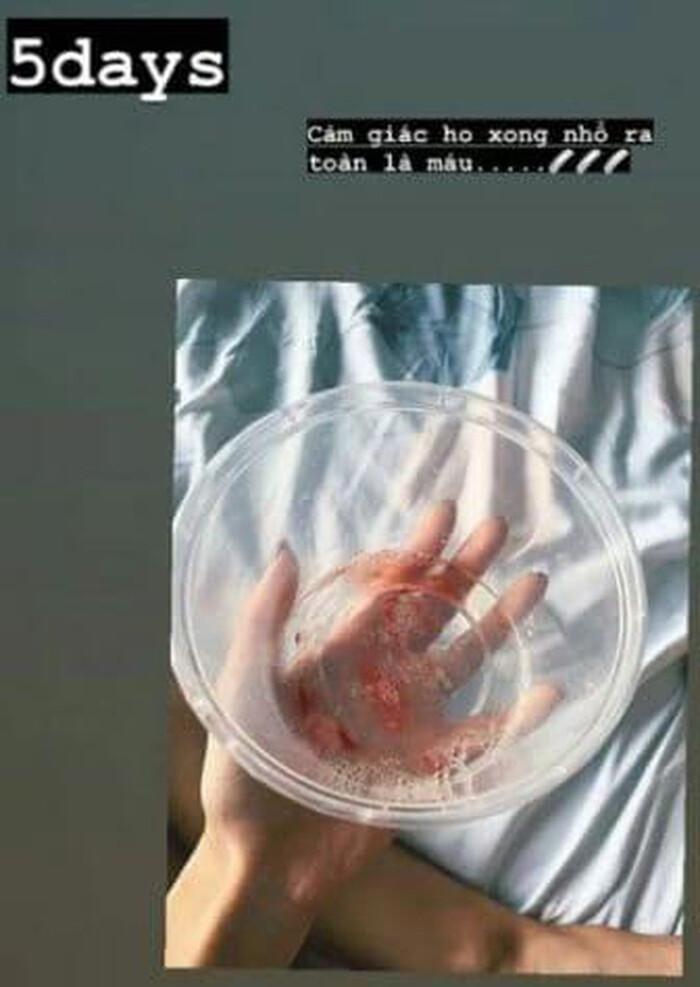 Khả Ngân bất ngờ tiết lộ hình ảnh tay chằng chịt kim tiêm, bị ho ra máu và sút cân trầm trọng: Chuyện gì thế này?