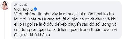 Bị mỉa mai vì làm từ thiện ít, Việt Hương đáp trả cực khéo: Qua dịch đi rồi giận sau