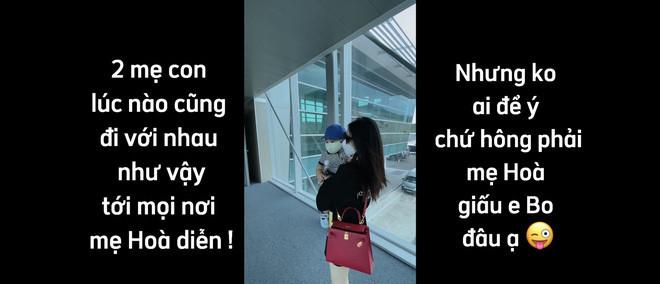 Hoà Minzy khoe body nuột nà lúc mới sinh con 8 tháng, tiết lộ thường đưa quý tử đi diễn cùng nhưng không ai để ý