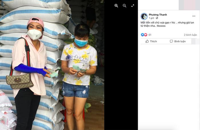 Giữa lùm xùm nghệ sĩ làm từ thiện, Phương Thanh tuyên bố chủ động sao kê