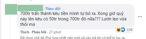 Bị netizen bóc chuyển tiền từ thiện vào tài khoản cá nhân của Trấn Thành, Tuấn Trần giải thích ra sao?